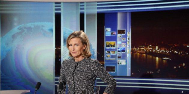 Télévision: Claire Chazal victime d'une attaque à l'excrément à sa sortie de TF1, un homme