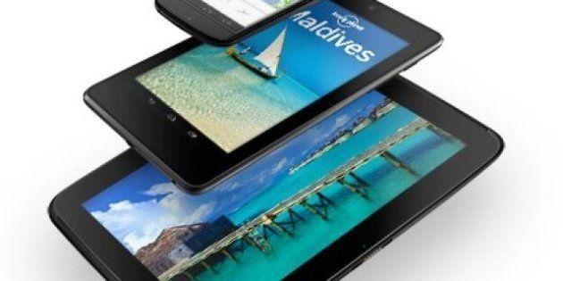 VIDÉO. Google Nexus 10: l'iPad a une nouvelle tablette