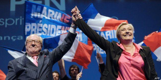 VIDÉOS. Haine raciale: Marine Le Pen marche dans les pas de son