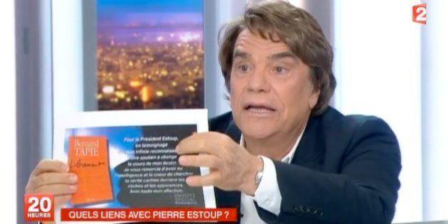 VIDÉOS. Affaire Tapie: revivez l'intervention de Bernard Tapie au journal de 20 Heures de France