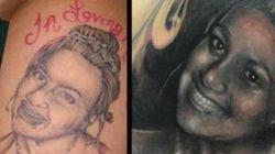 Etats-Unis: un artiste transforme un tatouage raté en