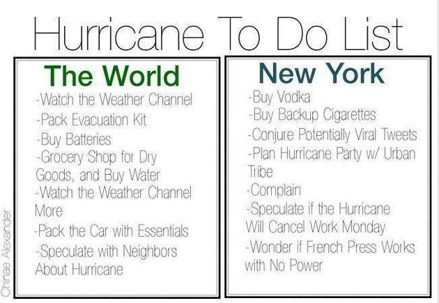 Sandy: communication politique