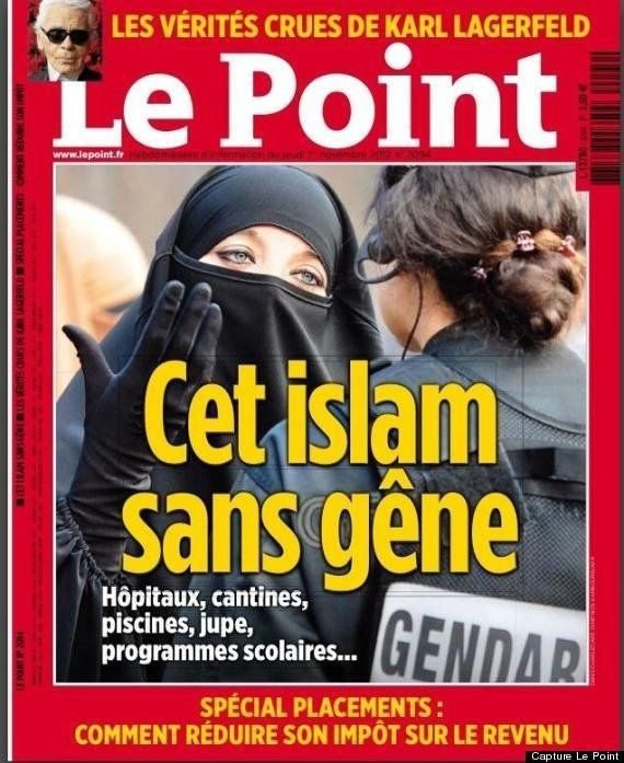 La Une du magazine Le Point sur