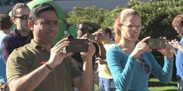 Nexus 5 : le nouveau smartphone de Google dévoilé par erreur dans la vidéo pour Android KitKat