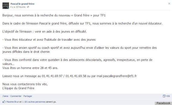 TF1 cherche le remplaçant de Pascal le Grand