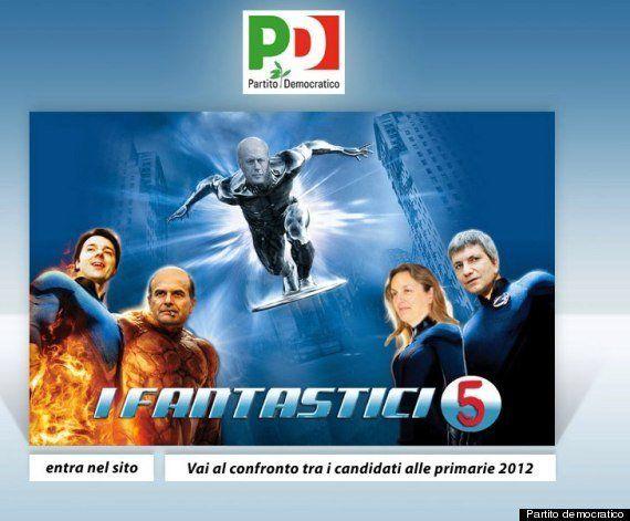 PHOTOS. Élections en Italie: la télévision de Silvio Berlusconi contre le web de Beppe