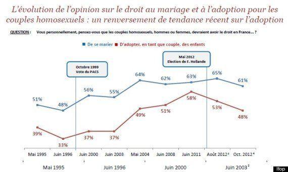 Mariage gay : pourquoi l'opinion coince sur l'adoption par des couples homosexuels -