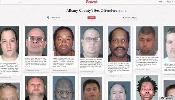 Un journal américain publie les photos de délinquants sexuels sur Pinterest pour