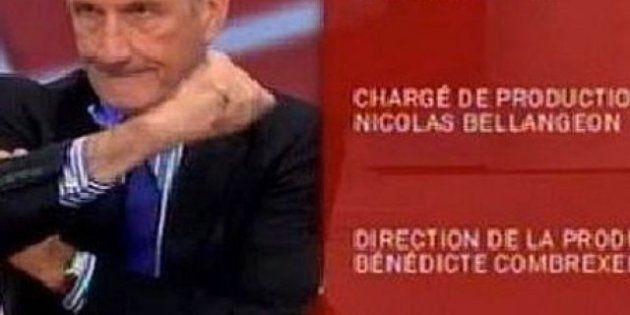 Gérard Longuet fait un bras d'honneur à Alger lors du générique d'une émission sur Public