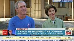 George W. Bush n'est pas mécontent d'avoir mis en place