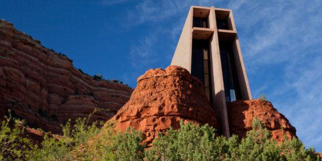 En bois, en verre ou végétale, découvrez des églises à l'architecture