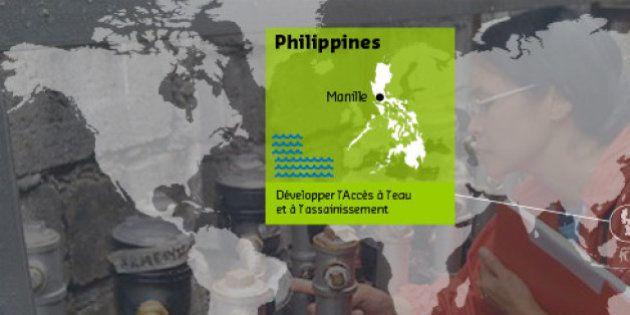 Eau et Vie s'engage pour l'accès à l'eau aux Philippines et au