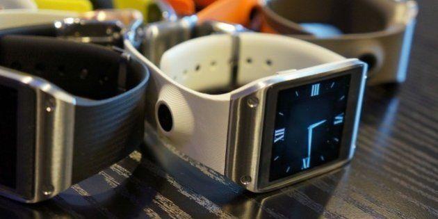 PHOTOS. Samsung Galaxy Gear: la montre intelligente a été présentée à