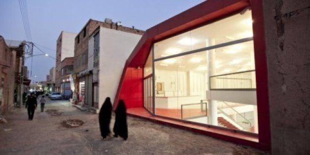 PHOTOS. Premières images du projet d'architecture d'un magasin