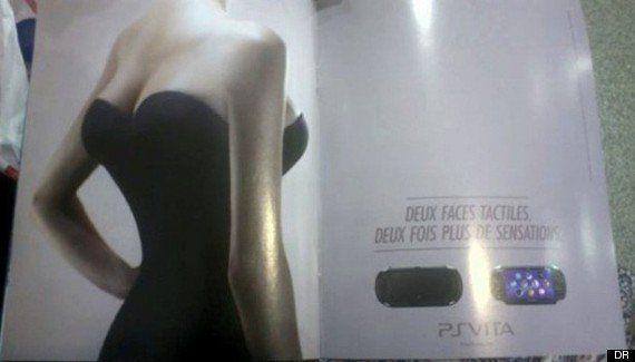 Sony : une publicité pour la Playstation Vita jugée sexiste sur
