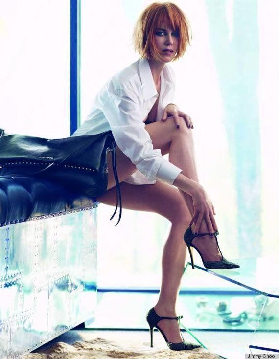 PHOTOS. VIDEOS. Publicité: Nicole Kidman pose pour la collection hiver 2013 de la marque de luxe Jimmy