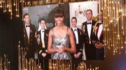 Michelle Obama annonce l'Oscar du meilleur