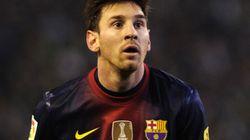 Lionel Messi règle ses comptes (au sens propre) avec le