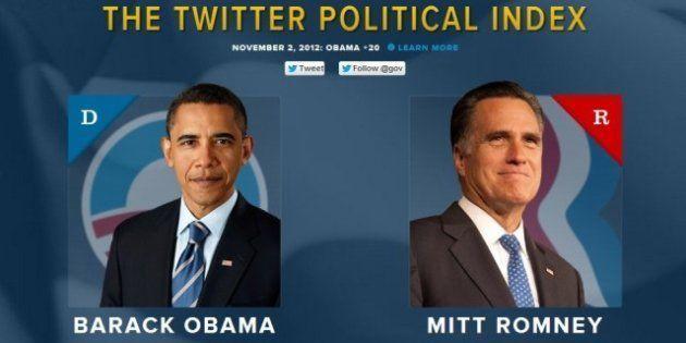 Élections américaines: Twitter lance une carte interactive pour mesurer la popularité des tweets de Barack...
