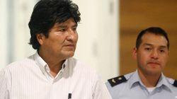 Evo Morales n'a pas du tout apprécié sa soirée à