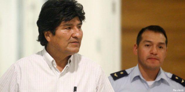Affaire Snowden: Evo Morales interdit de survoler la France et d'autres pays de