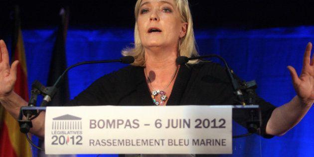 Marine Le Pen exclut toute alliance électorale FN-Bloc