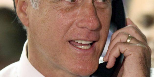Elections américaines : Mitt Romney et ses alliés lancent les derniers appels automatiques