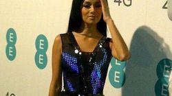 Une ex Pussycat Dolls porte une robe