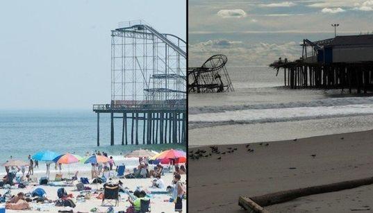 PHOTOS INTERACTIVES: Avant/après l'ouragan