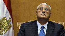 Il a commencé un nouveau job lundi, il a été désigné président de l'Egpyte le