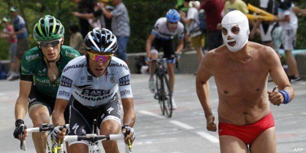 PHOTOS. Tour de France: ces spectateurs que l'on croise forcément dans les étapes de