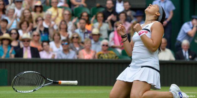 Wimbledon: Marion Bartoli se qualifie pour la