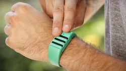 Ce bracelet enregistreur est une petite