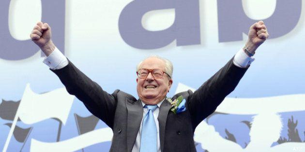 VIDÉO. À Nice, Jean-Marie Le Pen parle de la