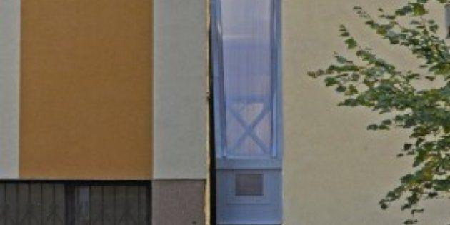 PHOTOS. Architecture: la maison la plus étroite construite entre deux immeubles à Varsovie en