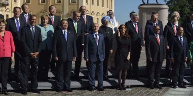Syrie au G20: La position des pays membres sur une intervention en Syrie. Qui est pour, qui est
