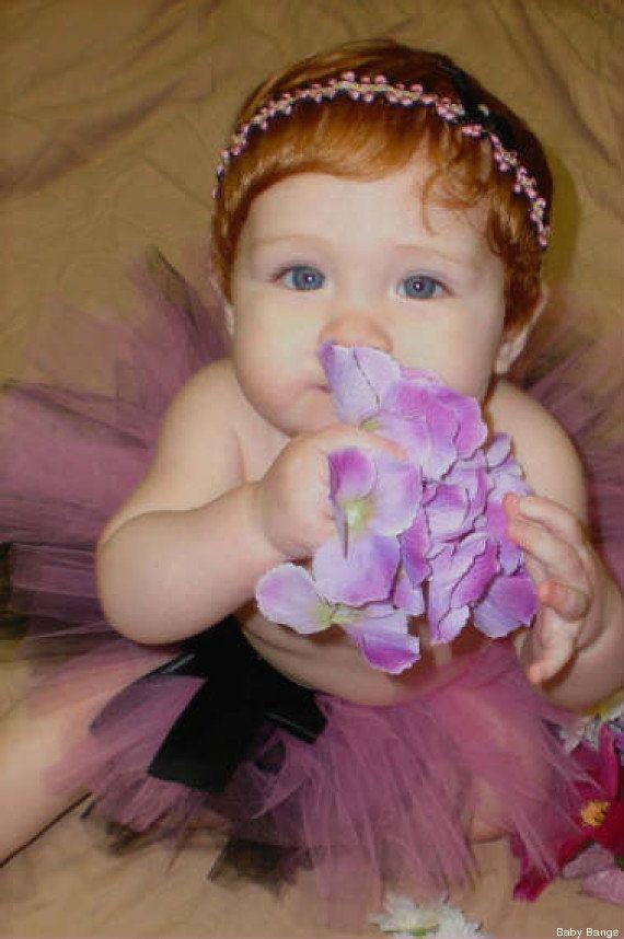 Perruques pour bébés: la société américaine Baby Bangs choque les