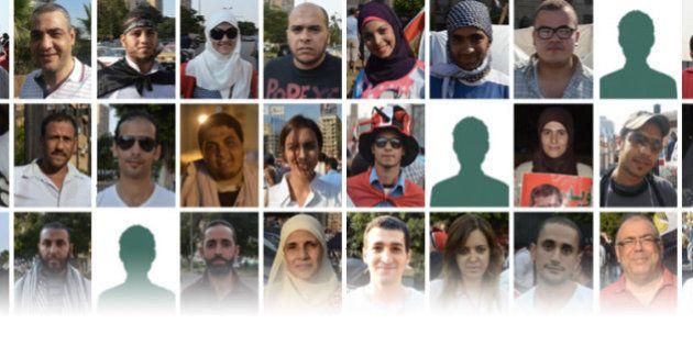 Egypte: 50 témoignages du