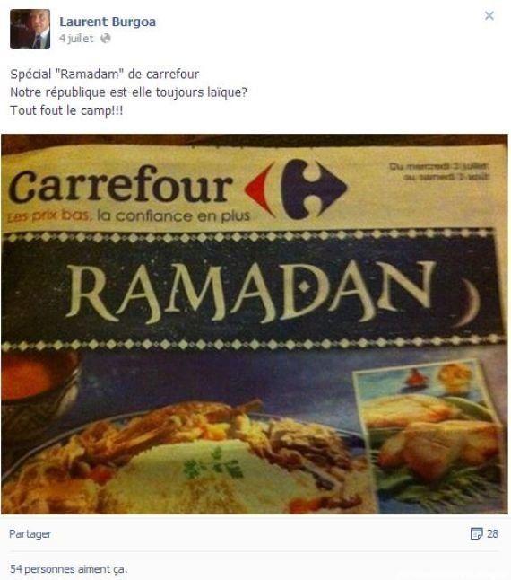 Facebook: un élu UMP provoque des commentaires racistes sur le