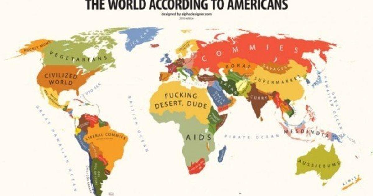 états unis dans le monde