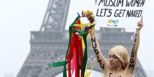 Femen: la France accorde l'asile à la chef de file du mouvement contestataire, Inna