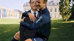 PHOTOS. David Beckham a son premier mème sous le maillot du