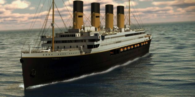 PHOTOS. Titanic II : la réplique exacte du célèbre paquebot sera fabriquée en