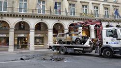 Paris : casse à la voiture bélier près de la place