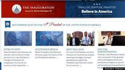 Le site de Romney s'il avait été élu mis en ligne par