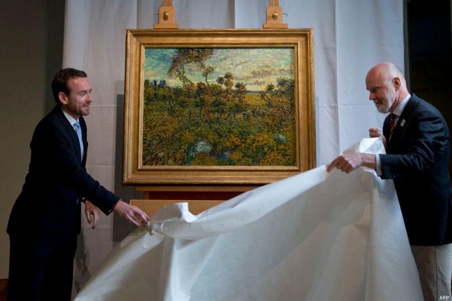 Un tableau de Van Gogh, gardé dans un grenier, présenté au musée