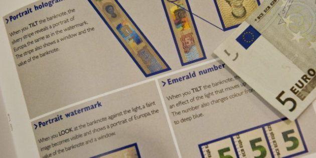 La BCE lancera une nouvelle série de billets en euros à partir de 2013 : le billet de cinq euros