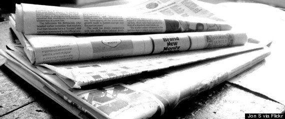 Presse écrite: des quotidiens à l'article de la