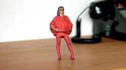 Le photomaton 3D qui crée des figurines à votre