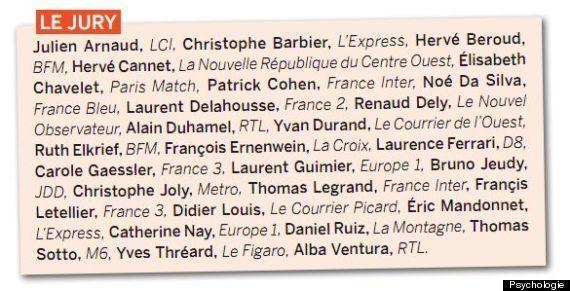 Le premier prix de la gentillesse en politique décerné par le magazine Psychologie, attribué à François
